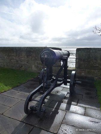 Berwick Upon Tweed Castle & Ramparts: A gunner's view
