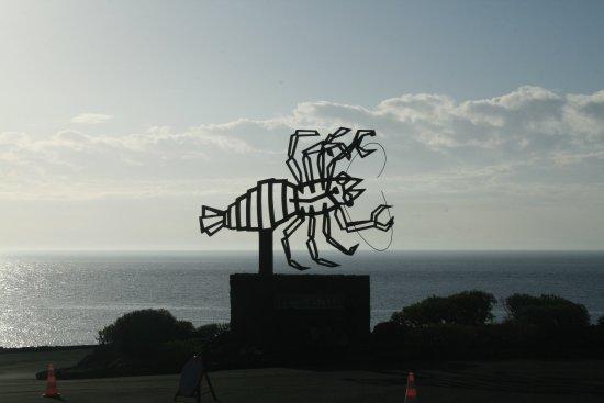 Punta Mujeres, Spain: Entrance sign