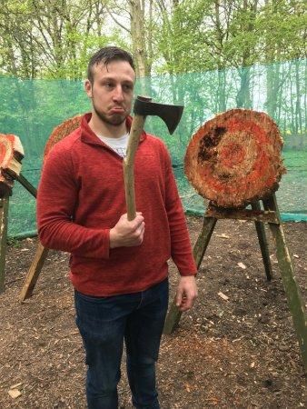 Live For Today Adventures -  Hazlewood Castle: I broke a handle