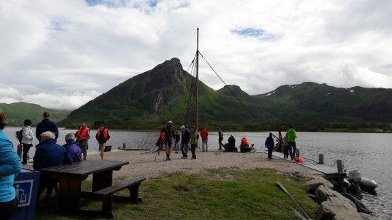 Vestvagoy, นอร์เวย์: Viking longboat