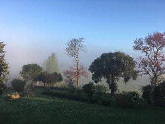 Puisseguin, Francia: le premier rayon