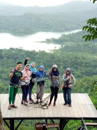 Sleman, Indonesia: Kalibiru adventure,