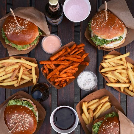Regal Burger : menu with fries and drinks