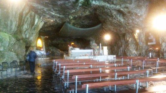 Santuario Madonna della Cornabusa: Interno del Santuario