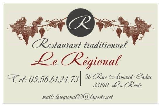 La Reole, Frankreich: Le Regonal