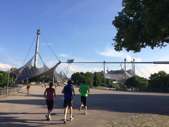 Olympiapark: Huge Open Space