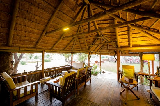 Timbavati Private Nature Reserve, South Africa: Main area of Shindzela Camp