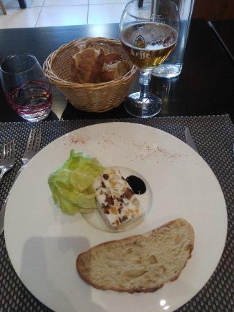 Selles-sur-Cher, France: nougat de chèvre (faisselle et selles sur sur cher aux fruits secs)