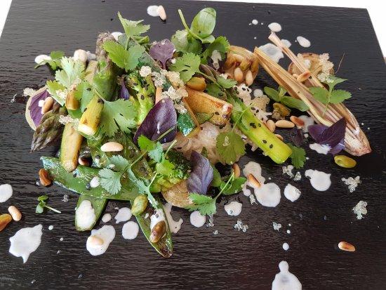 Hotel La Fuente De La Higuera: vegetarian delicacy