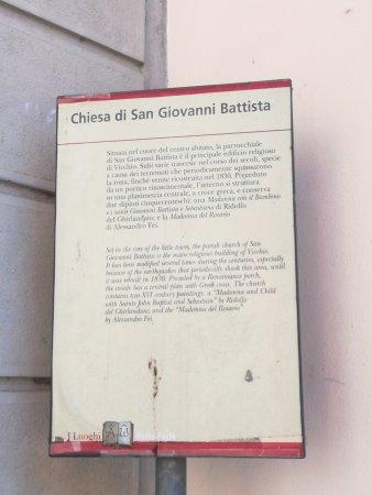 Vicchio, إيطاليا: Chiesa di S. Giovanni Battista