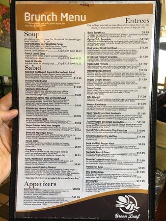 Framingham, MA: Green Leaf Vegetarian & Vegan Restaurant