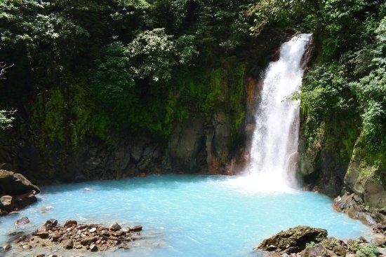 Tenorio Volcano National Park, Costa Rica: The waterfall