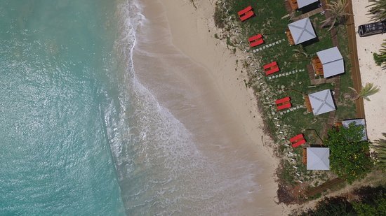 Crab Hill, Antigua: Birds eye view of the Cabanas