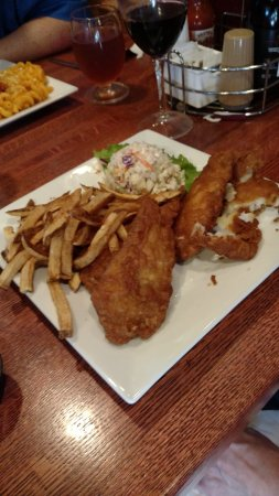 Wexford, PA: Guinness Fish Platter