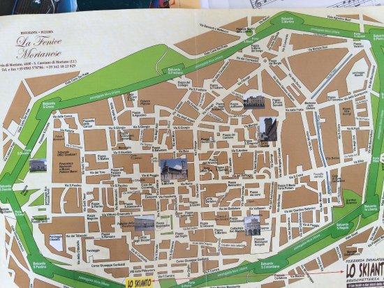 Lo Skianto : Plan de Lucca et du resto