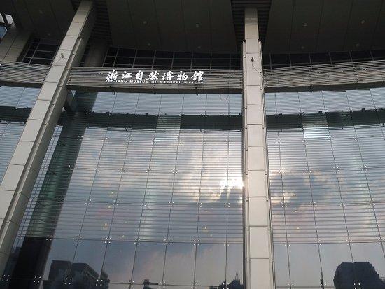 Zhejiang Natural Museum: かなり近代的な建物
