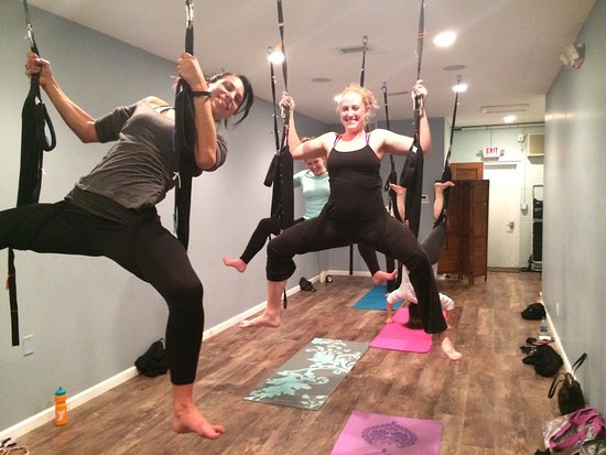 Bend Yoga and Wellness: Aerial Yoga Class
