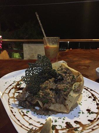 Booby Trap: Un risotto de funghi excelente!
