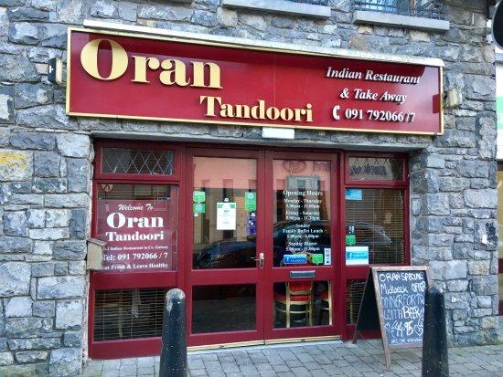 Oran Tandoori: Exterior of Restaurant