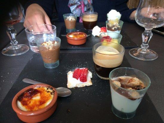 Prats de Mollo la Preste, Fransa: un bon café gourmand