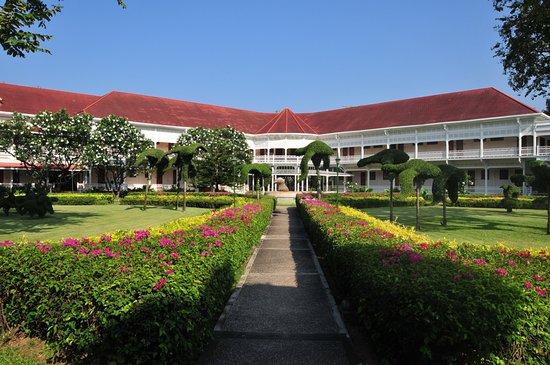 Herrlicher Urlaub in einer Hotelanlage im Kolonialstil
