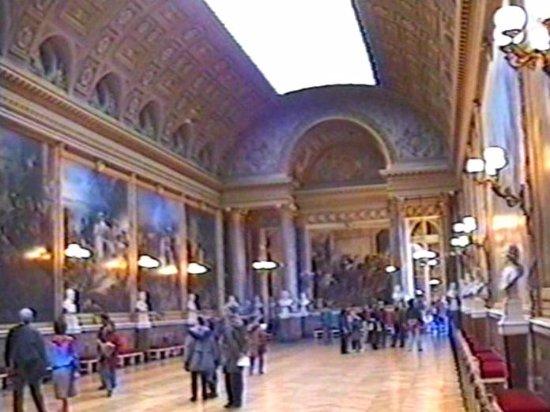 La Galerie des Batailles: Галерея Сражений в музее Истории