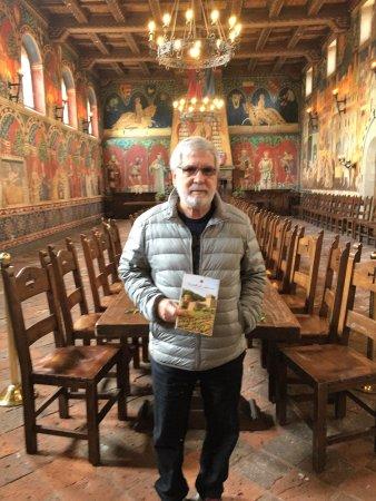 Castello di Amorosa: Great Hall maravilhoso!