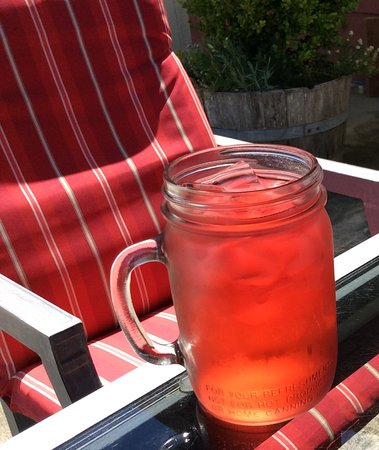 Charleston, OR: Iced tea made from fine loose-leaf tea.  Refreshing!