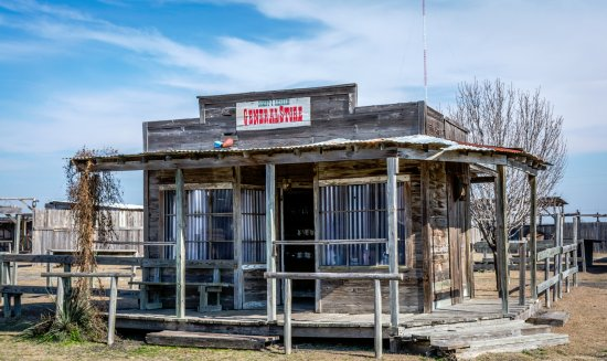 Manor, TX: J. Lorraine Ghost Town - General Store