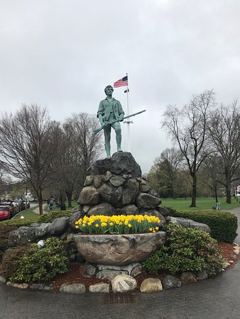 Lexington, MA: Statua del minuteman