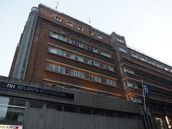 Fachada del hotel - Picture of NH Atlanta Rotterdam ...