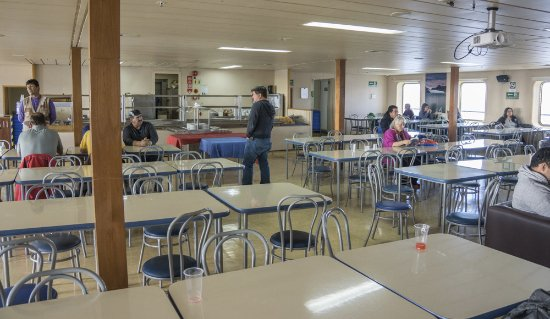Navimag: Dining Area