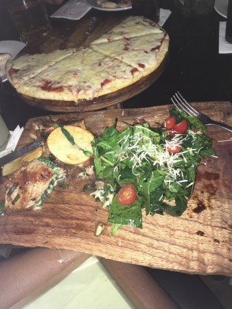 Cafeína Food Company: Comida boa! Comi carne de Venado que estava uma delicia !!!