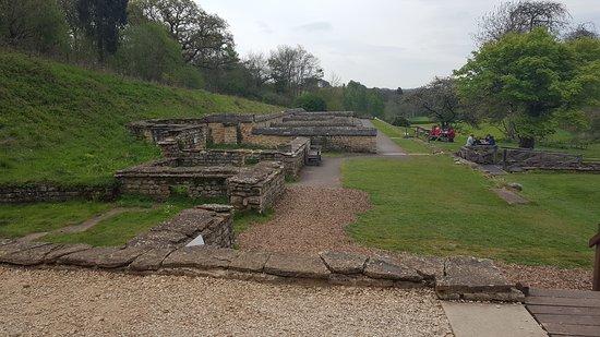Yanworth, UK: Chedworth Roman Villa