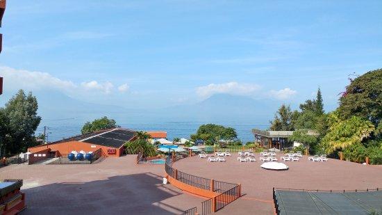 Porta Hotel Del Lago: Increible vista al lago!