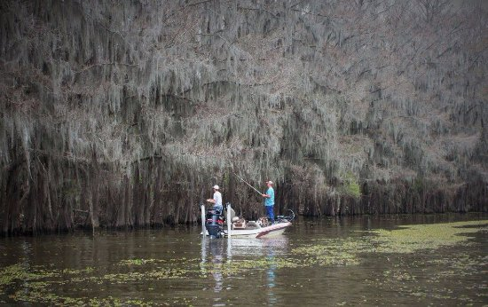 Uncertain, TX: fishermen