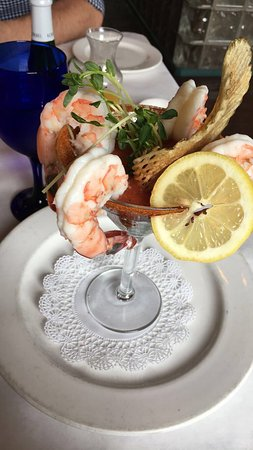 Skippack, Pensilvania: Shrimp cocktail