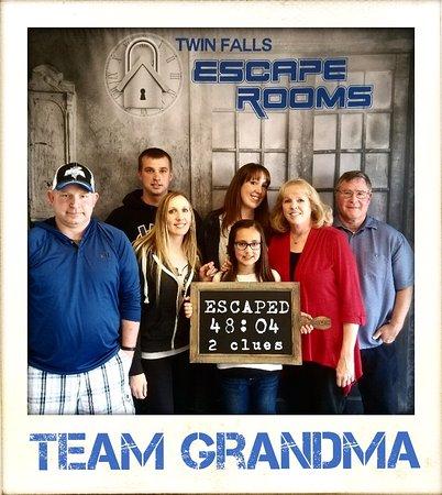 Twin Falls, ID: Team Grandma