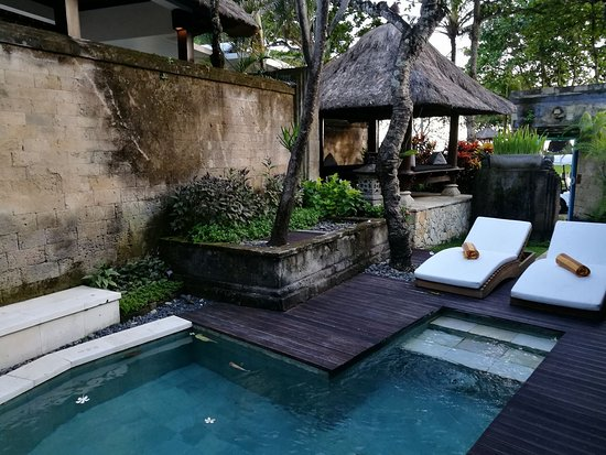 The Royal Beach Seminyak Bali - MGallery Collection: Private pool and gazebo of one bedroom villa