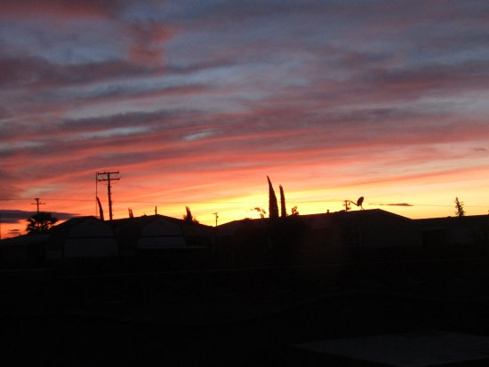 Tulare, CA: Sunset