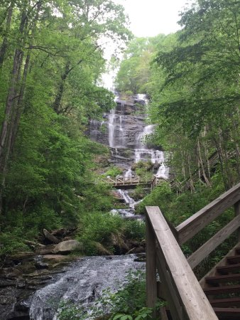 Amicalola Falls State Park: This place is gorgeous and it's a must see for nature lovers. Enjoyed every second of it.