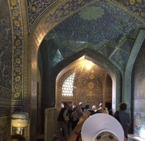 Soffitti decorati picture of sheikh lotfollah mosque - Soffitti decorati ...
