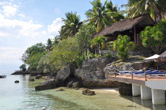 espace bronzage et plage photo de sampaguita resort moalboal tripadvisor. Black Bedroom Furniture Sets. Home Design Ideas