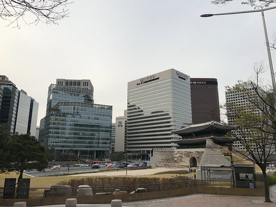 Courtyard By Marriott Seoul Namdaemun Hotel View From Near Station