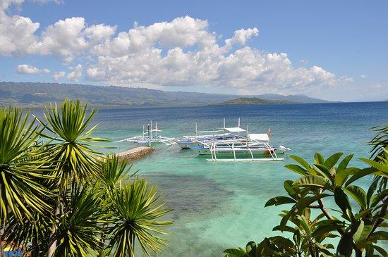 Sampaguita Resort: Vue du jardin