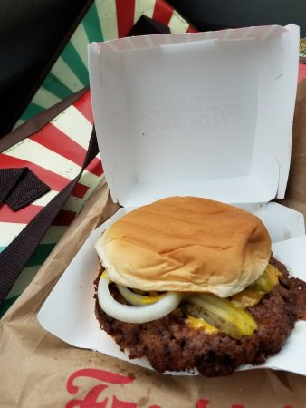 Yukon, OK: Freddie's Original Double Steakburger