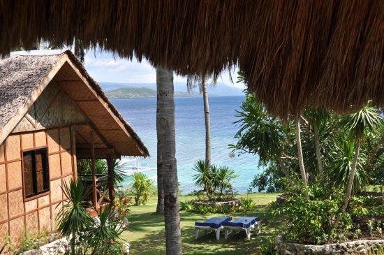 Sampaguita Resort: Vue de la terrasse