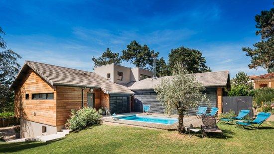 Limonest, France: Vue Sud-est