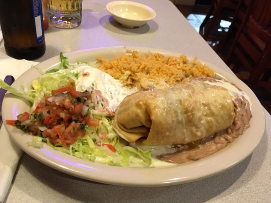 Cancun Mexican Restaurant I40: Cancun's Chimichanga Beef