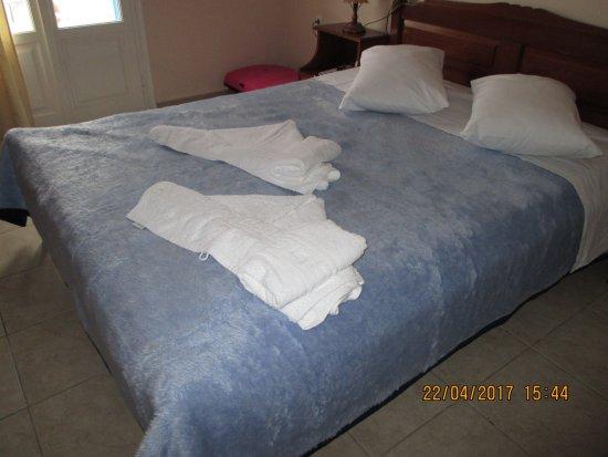 Filoxenia Hotel: dejligt dobbeltværelse
